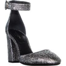MICHAEL Michael Kors Rena Block Heels, Silver - $195.59