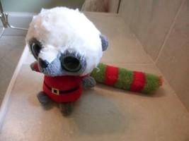 """6"""" YooHoo & Friends Lemmee Lemur  Animal  by Aurora in Santa Suit - $4.94"""