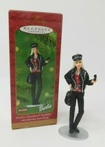 Harley Davidson Barbie Hallmark 2000 Keepsake Handcrafted Ornament  - $12.82