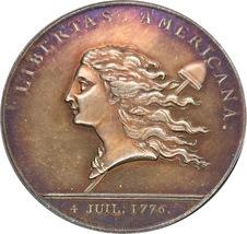 United States Libertas Americana Medal 1781  - $22.75