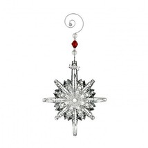 Waterford Crystal 2015 Annual Snowstar Christmas Ornament New # 40005038 - $126.23