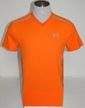 Under Armour Vent Moisture Wicking Orange Short Sleeve Athletic Shirt Me... - $59.99