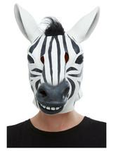 Adult Mens Ladies Novelty Funny Zebra Stag Hen Night Fancy Dress Animal Mask - $38.56