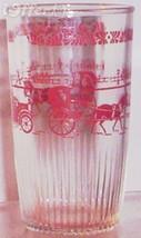 1950'S/1960'S RETRO HAZEL ATLAS--RED BUGGY GLASS - $6.95
