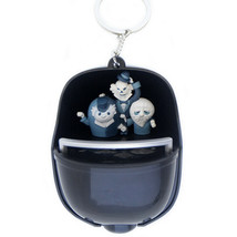 Disney Parks Haunted Mansion Hitchhiking Ghosts Light Up Keychain New with Tags - $17.24