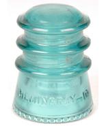 Blue Insulator-Hemingray 1-Telegraph-Telephone-USA-Antique-Made in USA-vtg - $26.17