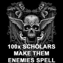 100X 7 SCHOLARS MAKE THREATS TO YOU ARCH ENEMIES SECRET EXTREME MAGICK - $99.77