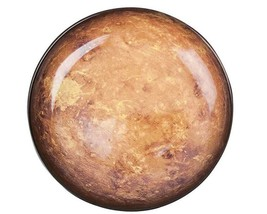 Diesel Living With Seletti Cosmic Dinner Collection Mars Dinner Plate Brown - $43.17