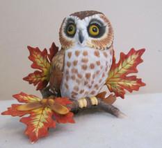 LENOX SAW WHET OWL FINE PORCELAIN - $25.00