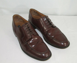 Bostonian Shoes Size 13 Oxfords Mens First Flex Brown Leather India 25022 Lace  - $29.69