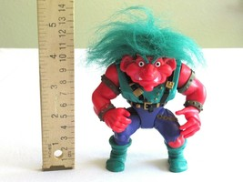 1992 Troll Warriors Vegar the Champion Applause Action Figure Vintage Gr... - $9.99