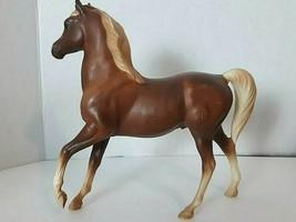 "Breyer Classic Sorel ARABIAN STALLION Brown Horse 7"" Tall - $14.84"