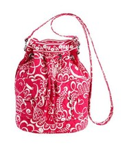 VERA BRADLEY TWIRLY BIRDS PINK QUICKDRAW TOTE SHOULDER BAG NEW WITH TAG - $38.69