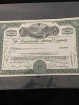Pennsylvania Railroad Company 100 Share Certificate - $14.03