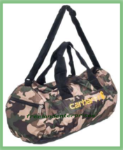 Hunting Carhartt Army Camo Packable Duffel 19x9x9 inches ~NEW~ - $24.70