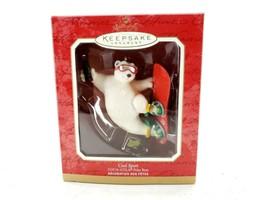 2001 Hallmark Ornament Cool Sport Coca-Cola Polar Bear - $10.59
