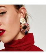 Colorful Bohemian Drop Earrings - $10.99