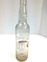 Vintage Old Fashion Ma's Beverage Bottle Soda Pop 16 oz Pint Wilkes Barr... - $8.86