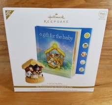 """NEW!! 2011 Hallmark """"A Gift For The Baby"""" INTERACTIVE STORY BOOK - $24.70"""
