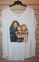 NEW WOMENS PLUS SIZE 3X  FULL HOUSE STILL KILLIN IT SUPER STRETCHY T SHI... - $15.47