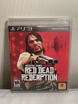 Red Dead Redemption (Play Station 3, 2010) PS3 No Map Or Manual - $11.83