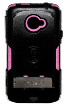 Trident Hybrid Case, Clip, Stand for HTC EVO 4G LTE Kraken Series Pink - $2.97
