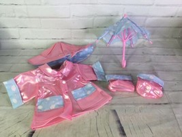 """2005 Cabbage Patch Kids Fun In The Rain Jacket Outfit Fashion For 16"""" CPK Doll - $39.59"""