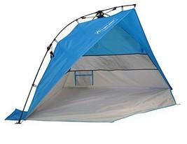 Lightspeed Outdoors Mini Pop Up Beach Tent Sun Shade Blue - $61.30