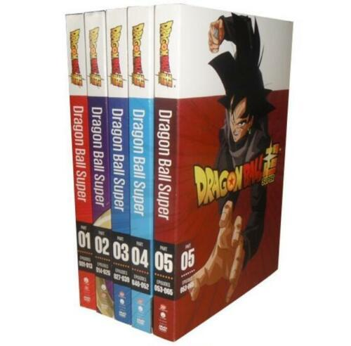 Dragon Ball Super: Complete Series Seasons Part 1-5 (DVD 10-Disc Box Set New)