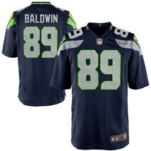 Youth Doug Baldwin Jersey #89 Seattle Seahawks Navy Blue Stitched Elite ... - $35.99