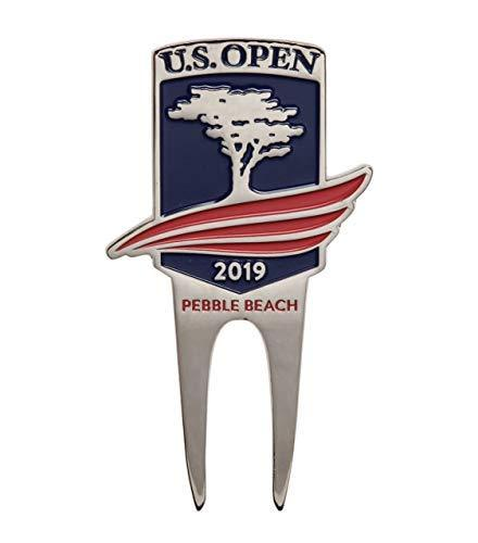 Primary image for PAC-GOLF 2019 US Open Divot Tool & Ball Marker Pebble Beach USGA