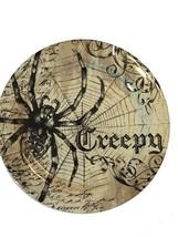 "Halloween Spider Plates Set of 6 Melamine Spooky 11"" Dinner Plates Creep... - $699,12 MXN"