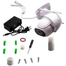 1080p FHD Outdoor PTZ IP Speed Dome ONVIF Wireless Pan Tilt Security Cam... - $73.87