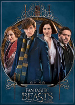 Fantastic Beasts Movie Cast Photo Image Refrigerator Magnet Harry Potter... - $3.99