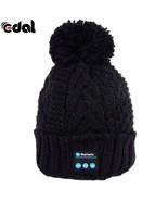 Winter HandsFree SmartCap Warm Beanie Hat Bluetooth earphone Headset Spe... - $22.99