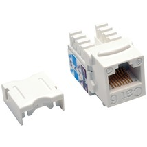 Tripp Lite Cat-6 And Cat-5e 110-style Punch-down Keystone Jack (white) T... - $9.70