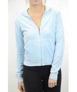 L Authentic Juicy Couture Vintage Baby Blue Vel... - $39.59