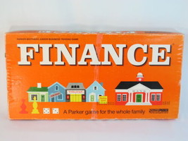 Finance 1970's Board Game Parker Brothers 100% Complete Excellent Plus @@@ - $22.31