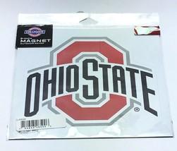 """Ohio State Buckeyes NCAA / Outdoor Rated Vinyl Auto Fridge Team Logo 8"""" ... - $12.14"""