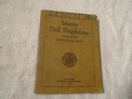 Vintage 1919 United States Infantry Drill Regulations book WWI - $14.84