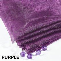 Fennco Styles Sorbet Tissue organza Multi Color Tablecloth - 2 Sizes (80... - €21,19 EUR