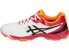 Asics Cricket Shoes Gel Peake 5 For Men  Size  UK 9  White/Black - $131.00