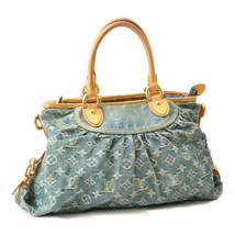 LOUIS VUITTON Denim Neo Cabby MM 2Way Shoulder Bag M95349 sa2014 No Strap - $877.42