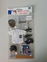 Detroit Tigers Major League Baseball Scrapbook Stickers EK Success Collage - $9.85