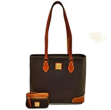 Dooney & Bourke Pebble Grain Richmond with Coin Case - Black
