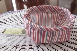Longaberger Coaster Tote Liner Market Stripe New - $12.00