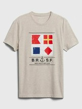 Banana Republic Men's Short Sleeve T-Shirts, Nautical Yacht Club Flags, ... - $14.74+