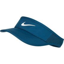 NEW NIKE Women Aerobill Featherlight Tennis/Golf Visor, VALERIAN BLUE 89... - $54.33