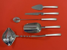 Craftsman by Towle Sterling Silver Cocktail Party Bar Serving Set 5pc Custom - $339.00