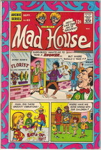 Archie's Madhouse Comic Book #63 Sabrina Story, Archie 1968 FINE+ - $25.07